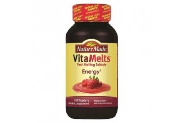 Nature Made VitaMelts Energy Mixed Berry Tablets
