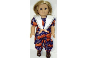 18 inch Doll Jack O Lanterns Outfit