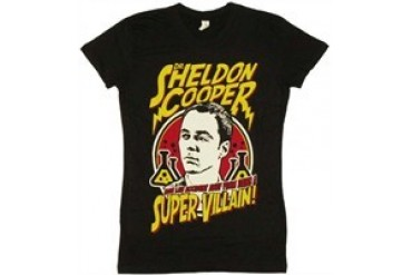 Big Bang Theory 2010 Comic Con Dr. Sheldon Cooper Super Villain Baby Tee
