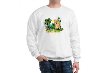 Pomeranian Gifts-Pun Intended Funny Sweatshirt by CafePress
