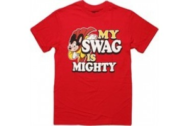 Mighty Mouse My Swag Is Mighty T-Shirt