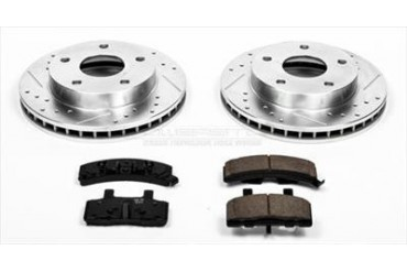 Power Stop Performance Brake Upgrade Kit K2126 Replacement Brake Pad and Rotor Kit