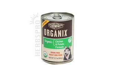 Organic Grain-Free Chicken & Potato Canned Dog Food 12.7 oz