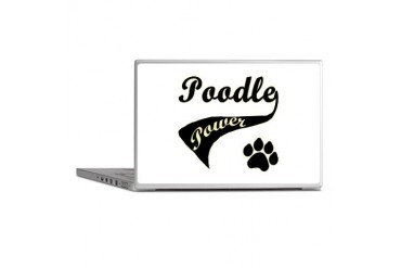 Poodle Power Poodle Laptop Skins by CafePress