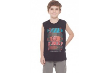 Boy Summer Cotton Tank Top Kids Everyday Graphic Muscle Shirt 2-10Y