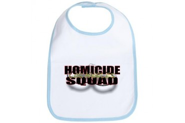 HOMICIDELA.jpg Police Bib by CafePress