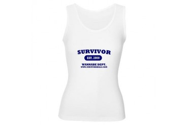 Women's Survivor Wannabe Tank Top Survivor Women's Tank Top by CafePress