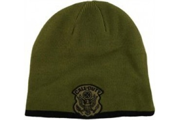 Activision Call of Duty 4 Badge Reversible Embroidered Beanie