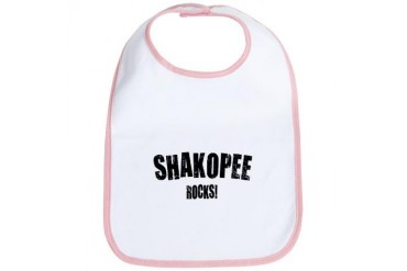 Shakopee Rocks Minnesota Bib by CafePress