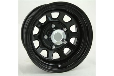Pro Comp Wheels 52 Rock Crawler Series - Gloss Black Powder Wheels 52-65281 Pro Comp Rock Crawler Steel Wheels