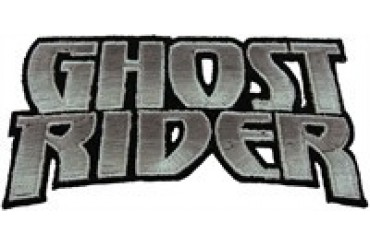 Ghost Rider Shaded Name Patch