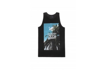 Mens Us Vs.Them Tank Tops - Us Vs.Them Paradise Tank Top