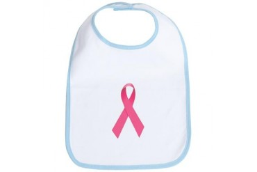 Breast Cancer Awareness Ribbon Cancer Bib by CafePress