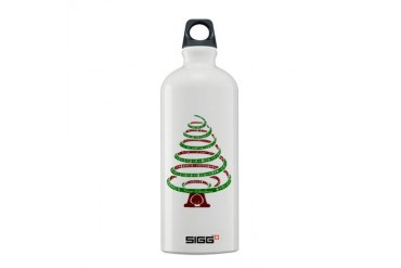 Christmas Tree Holiday Sigg Water Bottle 0.6L by CafePress