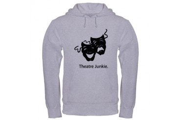 Theatre Junkie Theatre Hooded Sweatshirt by CafePress
