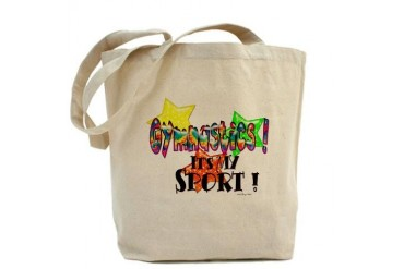 Gymnastics is my Sport Sports Tote Bag by CafePress
