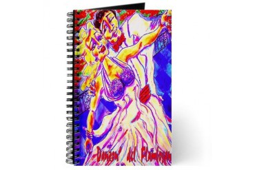 Danzon' del Flamboyan Vintage Journal by CafePress