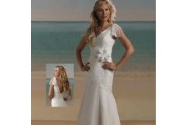 "Forever Yours Informal ""In Stock"" Wedding Dress - Style 3963"