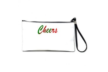 Cheers To You Holiday Clutch Bag by CafePress