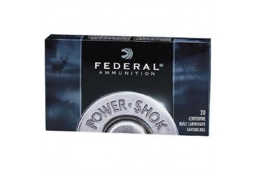 Federal Power-Shok Soft Point Ammunition - Federal Ammo 375 H&H Mag 270gr Hishok Sp 20/Bx