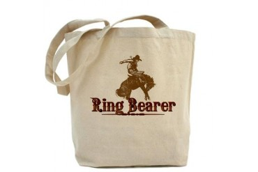 Ring Bearer Vintage Tote Bag by CafePress