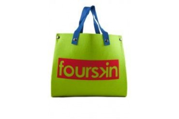 Fourskin Felt Tote Bag