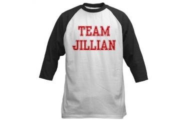 TEAM JILLIAN Sports Baseball Jersey by CafePress