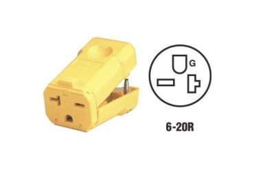 Leviton 081-5459Vy Leviton Grounding Cord Connector