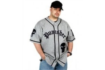 Punisher Retro Style Baseball Jersey