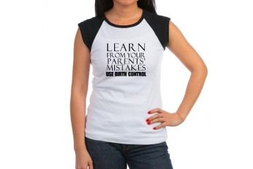 Learn from your parents mistakes... Women's Cap Sl Children Women's Cap Sleeve T-Shirt by CafePress