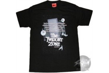 Twilight Zone Door Words T-Shirt