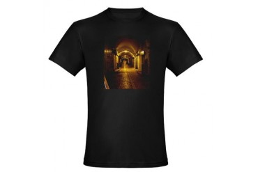 oldcitystreetgreenlight.jpg Organic Men's Fitted T Travel Organic Men's Fitted T-Shirt dark by CafePress