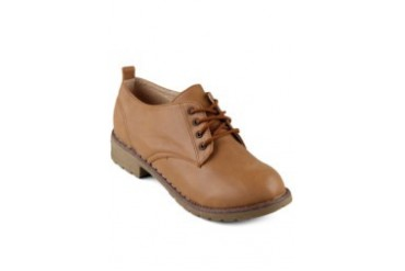 FLY Diamony Oxford Shoe Brown