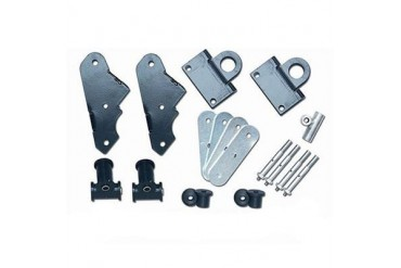 Rubicon Express Shackle Reversal Kit RE2800 Leaf Spring Shackle Kit