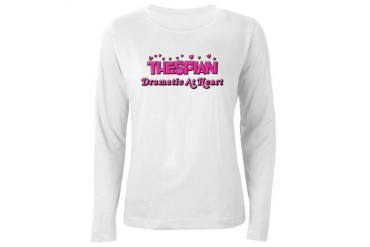 Thespian Hearts Music Women's Long Sleeve T-Shirt by CafePress