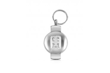 EB Limited Edition Silver Plated Key Ring