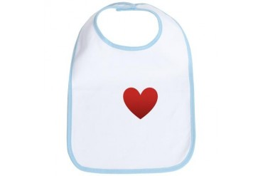 i-love-grape-dark-tee.png Humor Bib by CafePress
