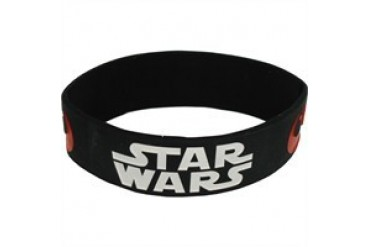 Star Wars Logo Rebel Alliance Galactic Empire Symbols Rubber Wristband