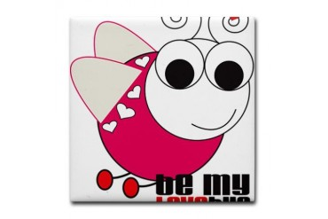 My Love Bug Animal Tile Coaster by CafePress
