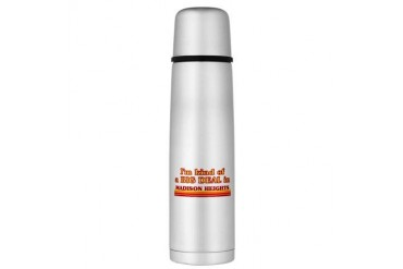 I am kind of a BIG DEAL in Madison Heights Large T Michigan Large Thermosreg; Bottle by CafePress