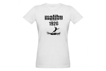 malibu 1926.jpg Sports Organic Women's T-Shirt by CafePress