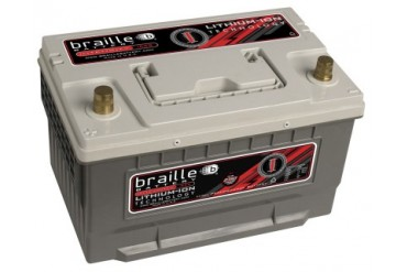 Braille Lithium Ion Intensity Starting Battery 2350 Amp 12 x 7 x 7 inch Left Positive BCI 65