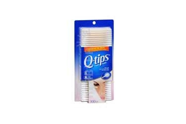 Q-Tips Antimicrobial Cotton Swabs 300 each