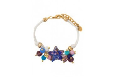 Murano Glass Star Struck Bracelet