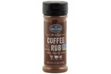 Fire amp Flavors All Natural Coffee Rub