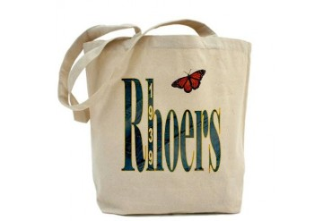 Rhoers Denim School Tote Bag by CafePress