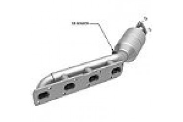 2004-2006 Nissan Titan Catalytic Converter Magnaflow Nissan Catalytic Converter 445501