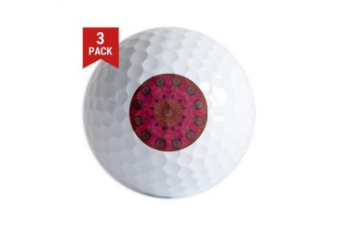 Affection Art Mandala Cool Golf Balls by CafePress