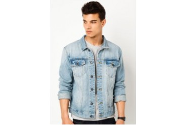 Stonewash Denim Jacket