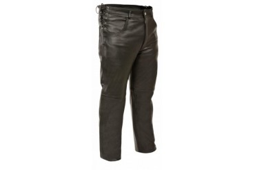 Mens Deep Pocket Over Pants - Side Lace Fit Adjustment